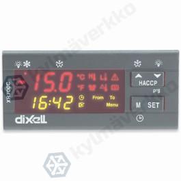 Lämpötilasäädin (HACCP toiminto) Dixell XR775C (000C1) 12Vac/dc- RS485