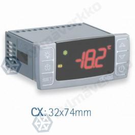 Lämpötilasäädin (paneeliasennus) Dixell XR70CX (5N0C3) 230Vac