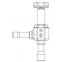 Elektroninen paisuntaventtiili CASTEL 2028E/4S07- 1/2S- 75BAR