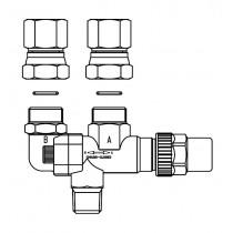 Vaihtoventtiili CASTEL 3032E/33- 3/8NPT- 120BAR