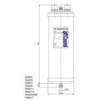 Öljynerotin CASTEL 5540/4- 1/2