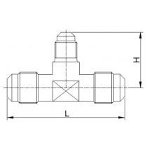 Kierreyhde CASTEL 7320/665- TR2-1210- 3/4MSAE- 5/8MSAE- 3/4MSAE