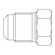 Kierretulppa CASTEL 7510/2- P2-4- 1/4MSAE 120BAR