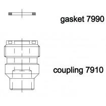 Rotalock juotosyhde CASTEL 7910/8- 1-14UNS- 19MMS