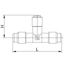 Neulaventtiili CASTEL 8380/X02- 1/4MSAE- 1/4MSAE- 7S