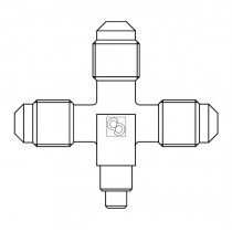 Neulaventtiili CASTEL 8382/X01- 1/4MSAE- 1/4MSAE- 1/4MSAE- 7S- 10S- 120BAR