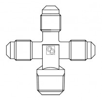 Neulaventtiili CASTEL 8382/X02- 1/4MSAE- 1/4MSAE- 1/4MSAE- 1/4MNPT- 120BAR