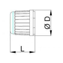 Neulaventtiilin hattu CASTEL 8391/A