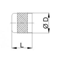 Neulaventtiilin hattu CASTEL 8392/A