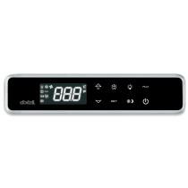 Lämpötilasäädin (paneeliasennus) Dixell XW20LRT (5N1W0-R) 230Vac- VALKOINEN- KOSKETUSNÄYTTÖ