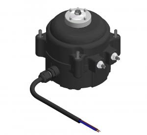 EC puhallinmoottori FMI EC156AAB09DAA1- 1300RPM- 220-240V 50/60Hz- IP65- siipikoko: Ø172mm/22° imevä ... Ø230mm/34° imevä